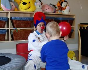 Balloni i børnehave